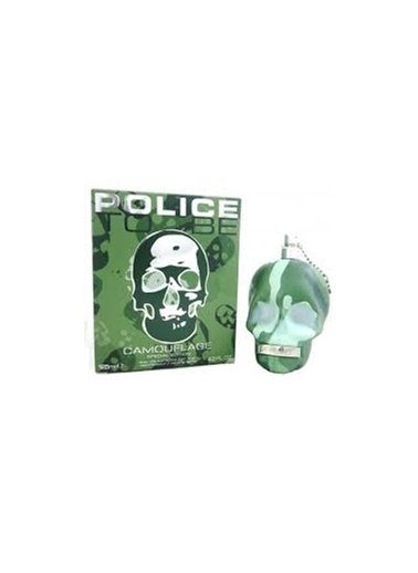 Police To Be Camouflage Man Edt 125 Ml Renksiz